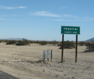 Imperial County Traffic Ticket