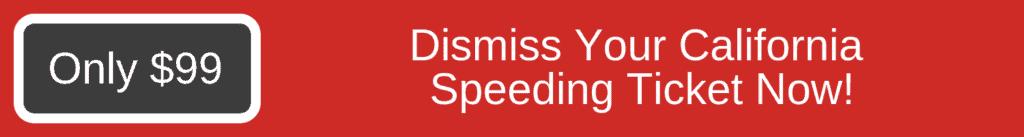 California Speeding Ticket