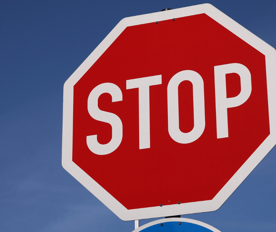 how much is a stop sign ticket