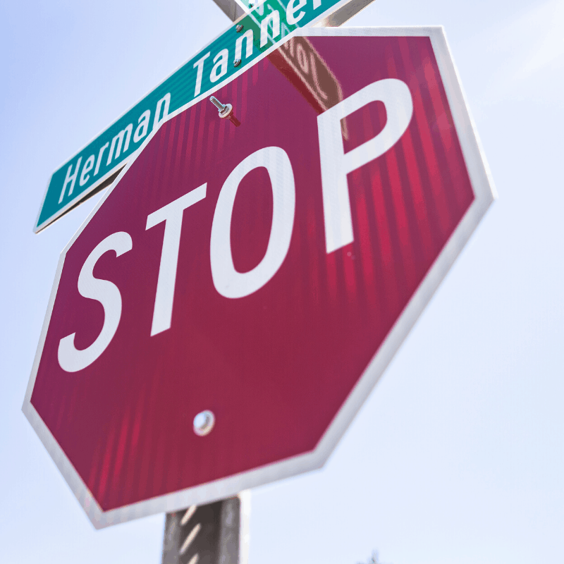 how to fight a rolling stop sign ticket