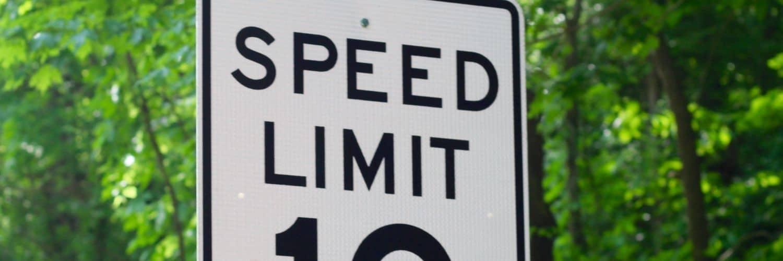 beat ca speed zone sign traffic ticket